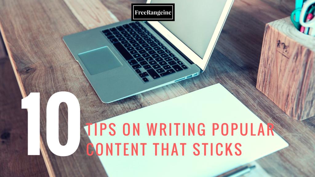 writing popular content